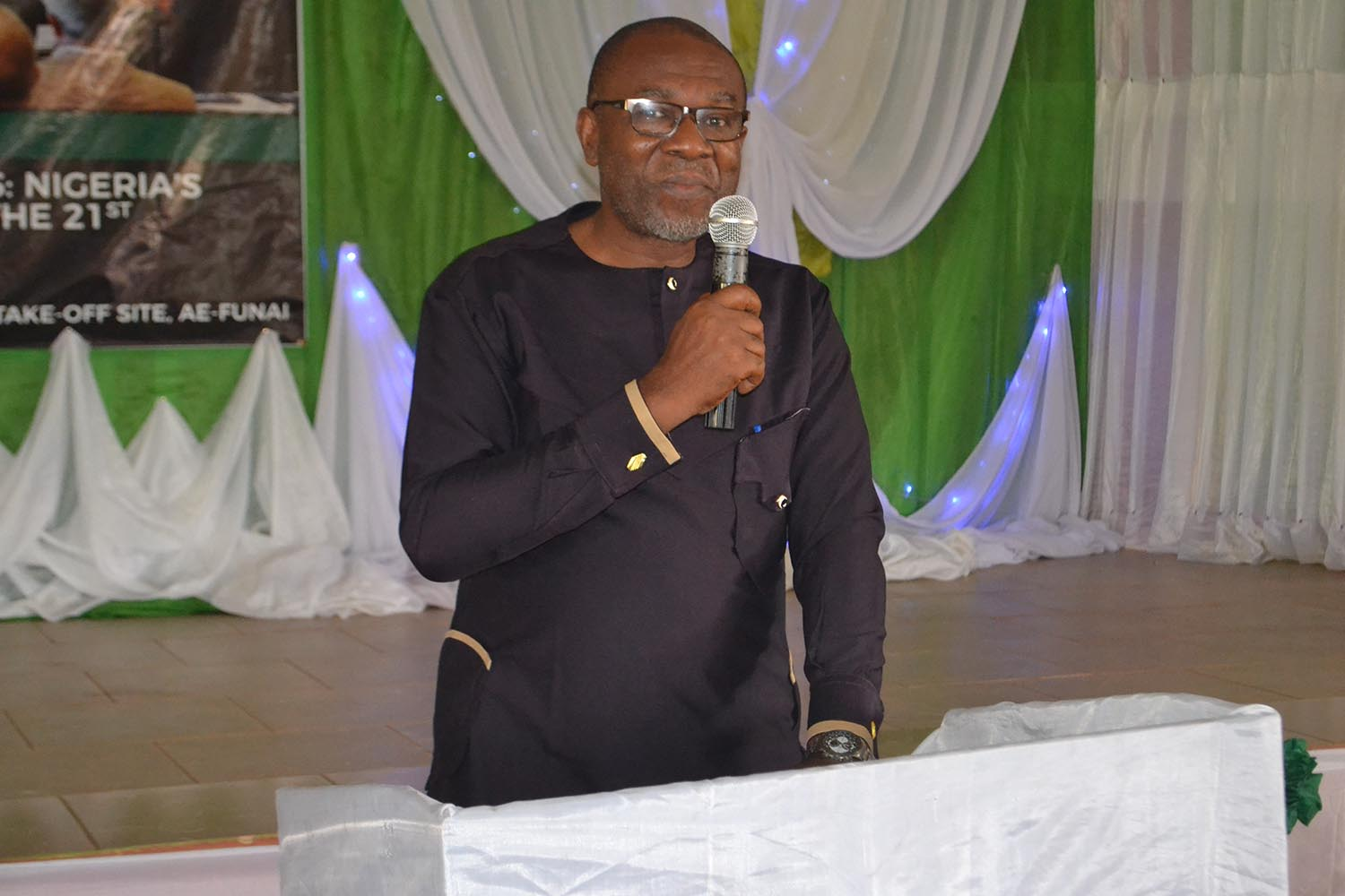 Prof Isidore Diala, delivering his keynote address