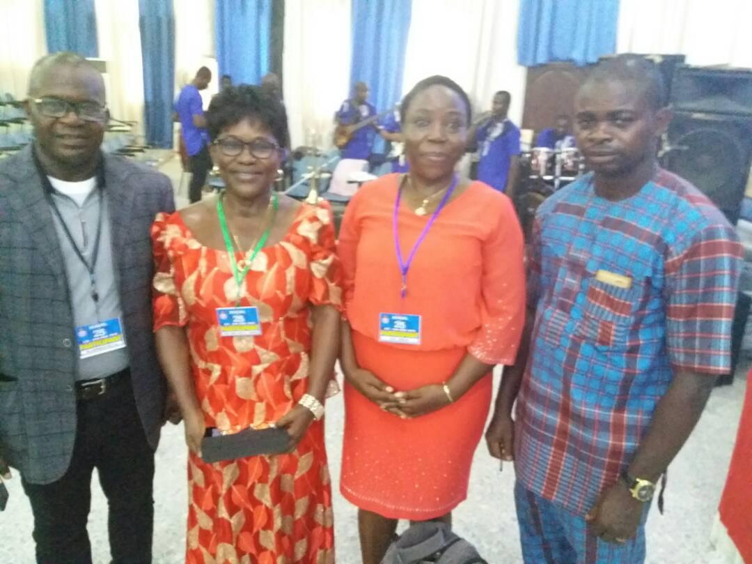Right to Left: Mr Ama E. Agwu, Prof G.M.T Emezue, Prof Grace Okereke, Dr Eni Onyekachi