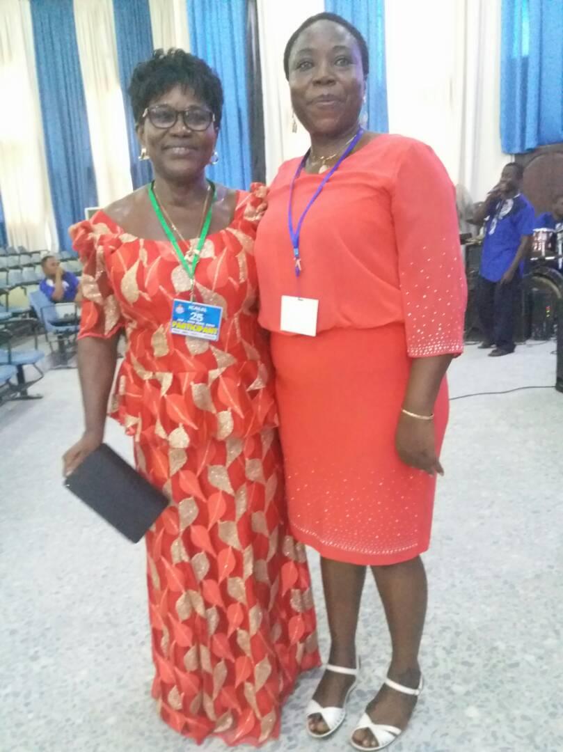 Right to Left: Prof G.M.T Emezue and Prof Grace Okereke