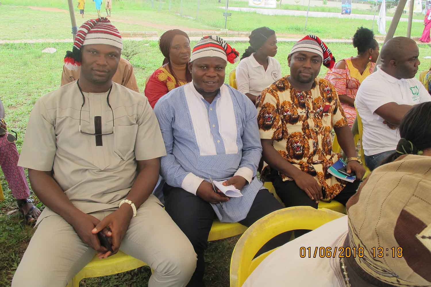 Cross section of participants during the 2018 Igbo Cultural Day Festival