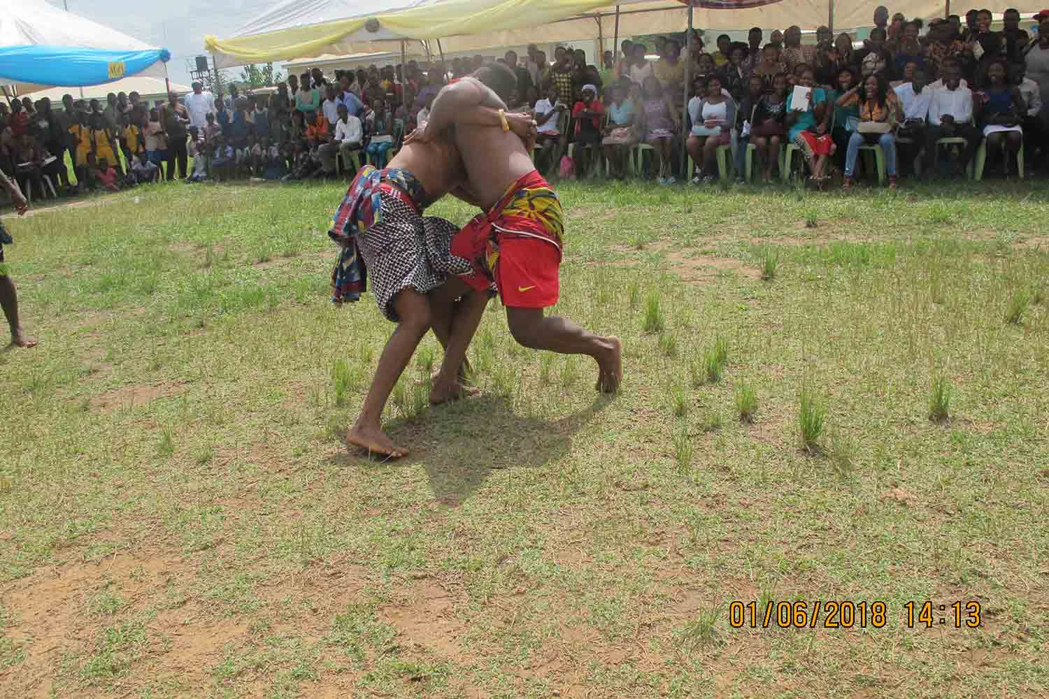 The 2018 traditional wrestling contest