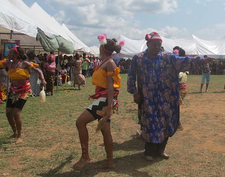 Professor Chukwu Dancing with Ebonyi State Troop