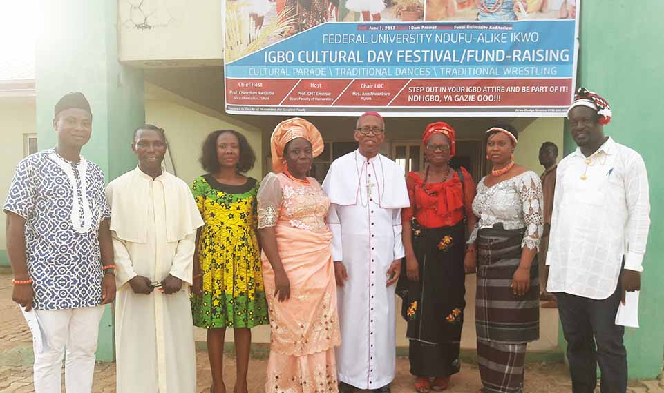 Group Photograph with Archbishop A.J.V Obinna and members of the Organizing committee