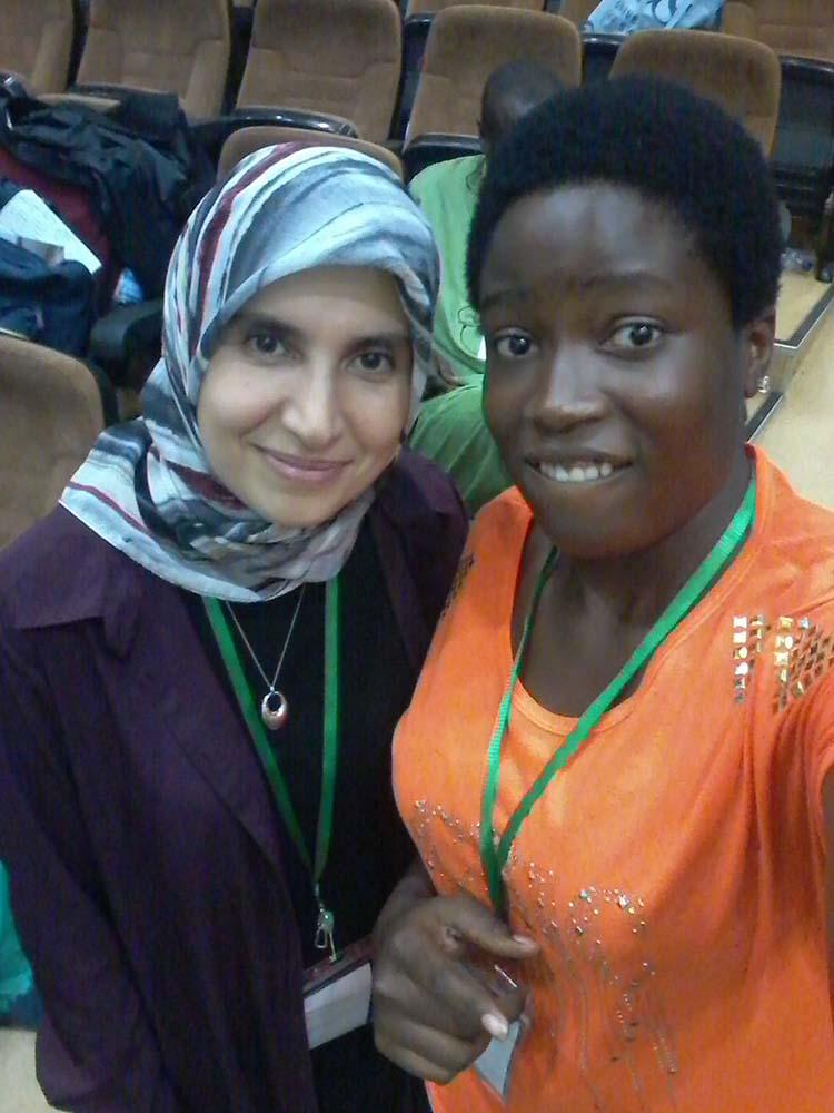 Facilitators from the University of Sussex and Nefertiti Emezue