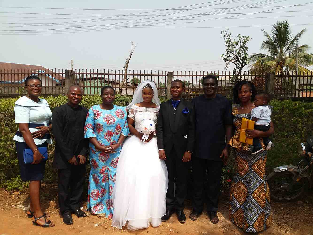 The faculty delegation to rejoice with Dr Francis Ofoegbu during his wedding on 30th of December, 2017.